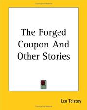 Cover of: The Forged Coupon and Other Stories by Leo Tolstoy