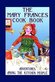 Cover of: The Mary Frances cook book by Jane Eayre Fryer