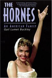 Cover of: The Hornes by Gail Lumet Buckley