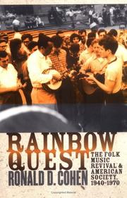Cover of: Rainbow Quest by Ronald D. Cohen