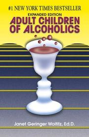 Cover of: Adult children of alcoholics by Janet Geringer Woititz