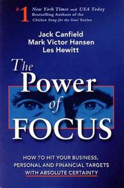 Cover of: The Power of Focus by Mark Victor Hansen