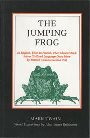 Cover of: Celebrated jumping frog of Calaveras County by Mark Twain