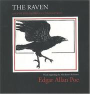 Cover of: Raven by Edgar Allan Poe
