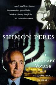Cover of: The Imaginary Voyage by Shimon Peres