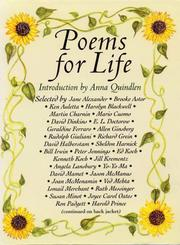 Cover of: Poems for Life by Anna Quindlen