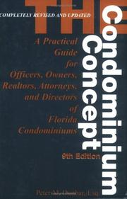 Cover of: The condominium concept by Peter M. Dunbar