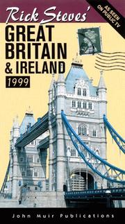 Cover of: Rick Steves' Great Britain & Ireland 1999 (Serial) by Rick Steves