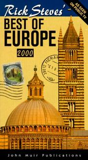 Cover of: Rick Steves'  Best of Europe 2000 by Rick Steves