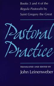 Cover of: Pastoral practice by Gregory I Pope