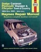 Cover of: Dodge Caravan Plymouth Voyager & Chrysler Town & Country 1984 thru 1995 Mini-vans Haynes Repair Manual by John Harold Haynes