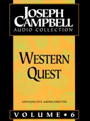 Cover of: Western Quest (Joseph Campbell Audio Collection) by Joseph Campbell