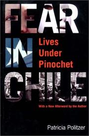 Cover of: Fear in Chile by Patricia Politzer