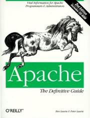 Cover of: Apache by Ben Laurie, Peter Laurie