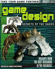 Cover of: Game Design by Marc Saltzman