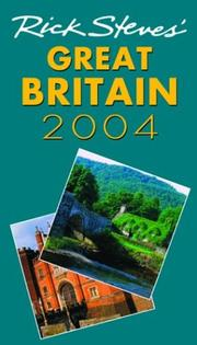 Cover of: Rick Steves' Great Britain 2004 by Rick Steves