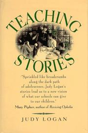 Cover of: Teaching stories by Judy Logan