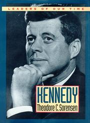 Cover of: Kennedy by Theodore C. Sorensen