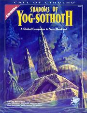 Cover of: Shadows of Yog-Sothoth by Sandy Petersen