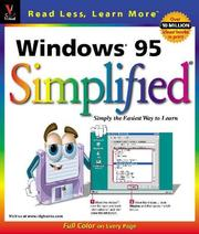 Cover of: Windows 95 by Ruth Maran