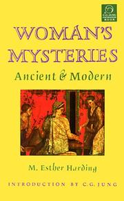 Cover of: Women's Mysteries by M. Esther Harding