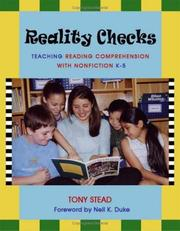 Cover of: Reality checks by Tony Stead