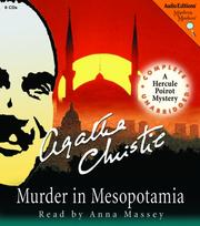 Cover of: Murder in Mesopotamia by Agatha Christie