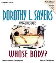 Cover of: Whose body? by Dorothy L. Sayers