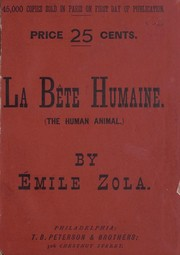 Cover of: Bête humaine | Émile Zola