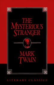 Cover of: Mysterious stranger by Mark Twain