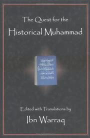 Cover of: The Quest for the Historical Muhammad by Ibn Warraq.