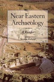 Cover of: Near Eastern Archaeology by Suzanne Richard