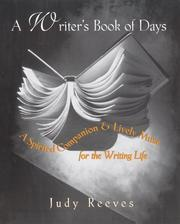 Cover of: A Writer's Book of Days by Judy Reeves