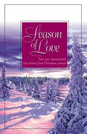 Cover of: Season of Love by Tracie Peterson