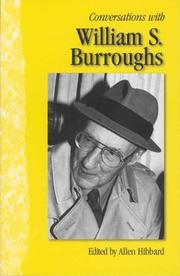 Cover of: Conversations with William S. Burroughs by William S. Burroughs
