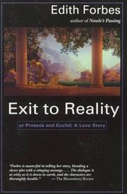 Cover of: Exit to Reality by Edith Forbes