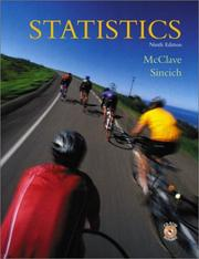 Cover of: Statistics by James T. McClave