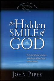 Cover of: The Hidden Smile of God by John Piper