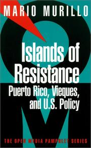 Cover of: Islands of resistance by Mario Murillo