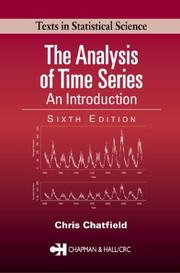 Cover of: The analysis of time series by Christopher Chatfield