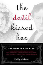 Cover of: The devil kissed her by Kathy Watson