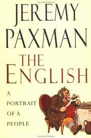Cover of: The English by Jeremy Paxman