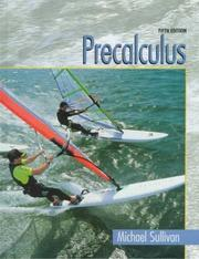 Cover of: Precalculus by Sullivan, Michael