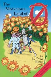 Cover of: The Marvelous Land of Oz | L. Frank Baum