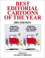 Cover of: Best Editorial Cartoons of the Year 2003 (Best Editorial Cartoons of the Year) by Charles Brooks