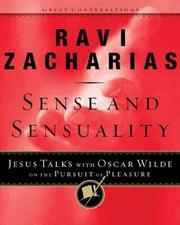 Cover of: Sense and Sensuality by Ravi K. Zacharias