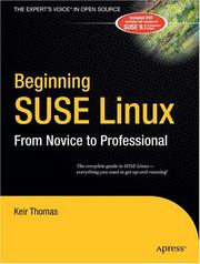 Cover of: Beginning SUSE Linux by Keir Thomas