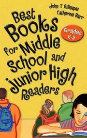 Cover of: Best books for middle school and junior high readers by John Thomas Gillespie