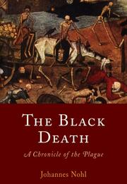 Cover of: The black death by Johannes Nohl