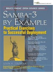 Cover of: Samba-3 by Example by John H. Terpstra